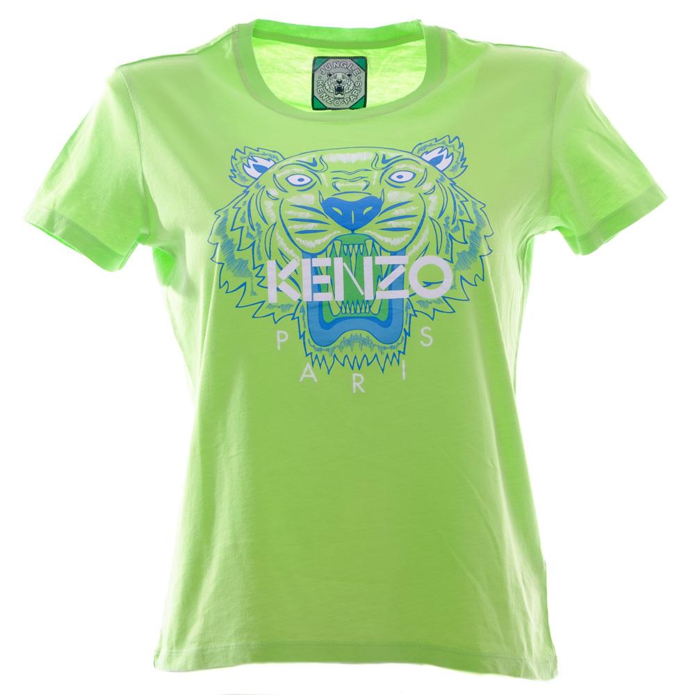c2376909 KENZO WOMAN Tiger light green T-shirt