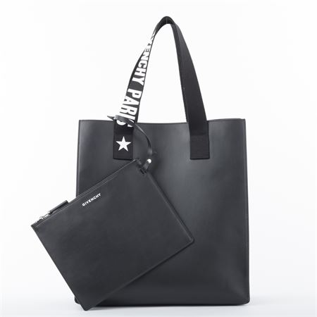 ce8b0a6419 Givenchy's black leather