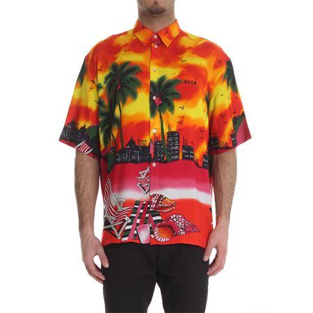 MSGM X SUNDEK - Camicia